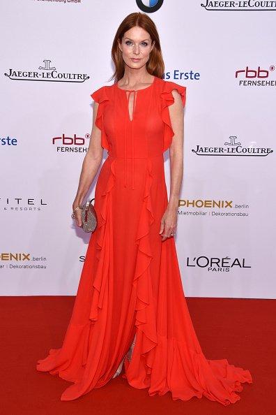 Esther Schweins, Lola - German Film Award 2016 - Red Carpet | Quelle: Getty Images