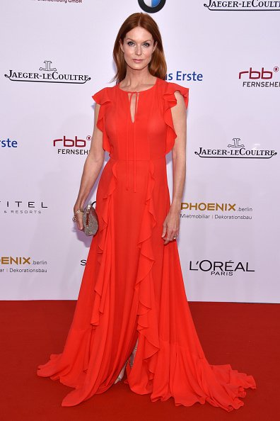 Esther Schweins, Lola - German Film Award 2016 - Red Carpet | Quelle: Getty Images