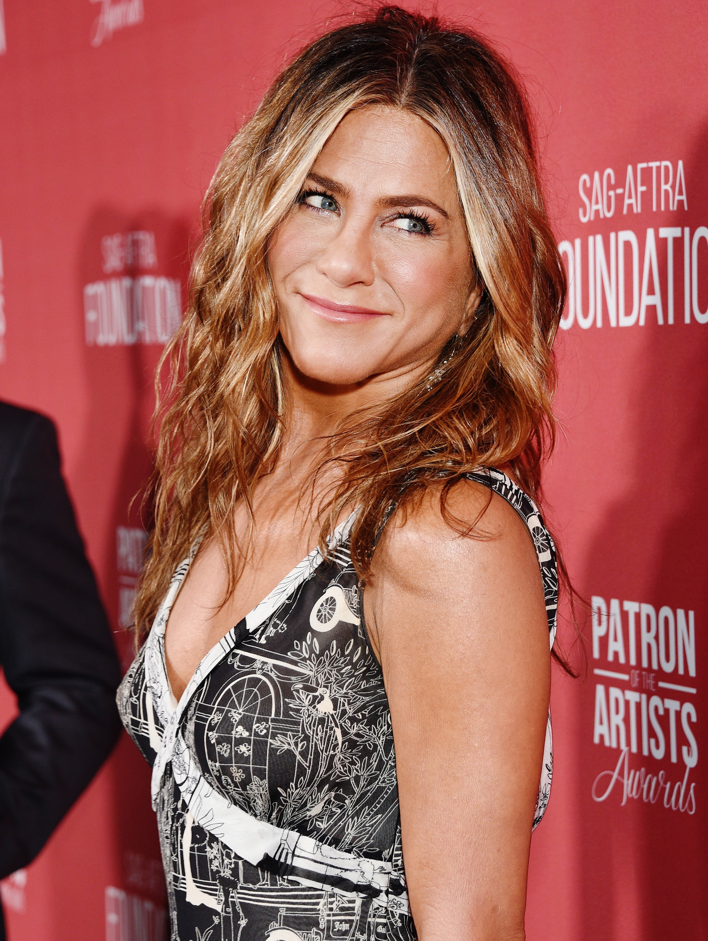 Jennifer Aniston attends the Patron of the Artists Awards in Beverly Hills, California on November 7, 2019 | Photo: Getty Images