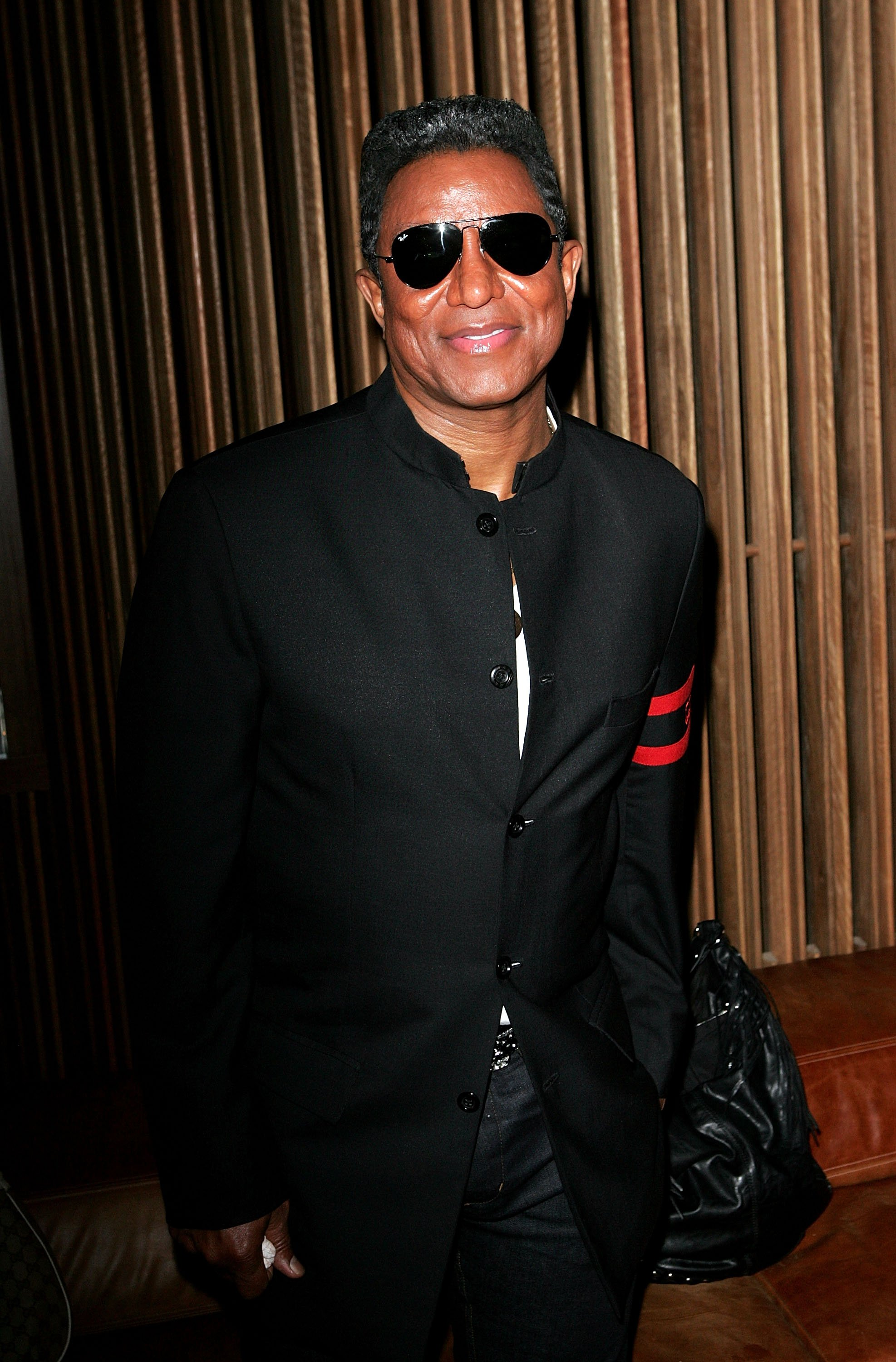 """Jermaine Jackson in February 2010 at a drinks reception at Tokonoma in Sydney where he promote d Arena's TV new TV show """"The Jacksons: A Family Dynasty."""" 