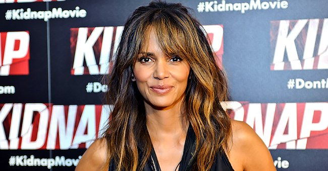 Fans Praise Halle Berry's Look in a New Selfie Showing Her Long Stunning Hair Covering Her Face