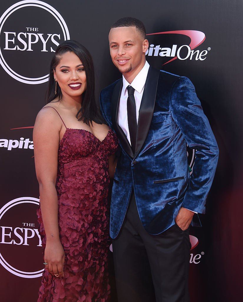 Stephen and Ayesha Curry arrive at The 2016 ESPYS at Microsoft Theater on July 13, 2016 in Los Angeles   Photo: Getty Images