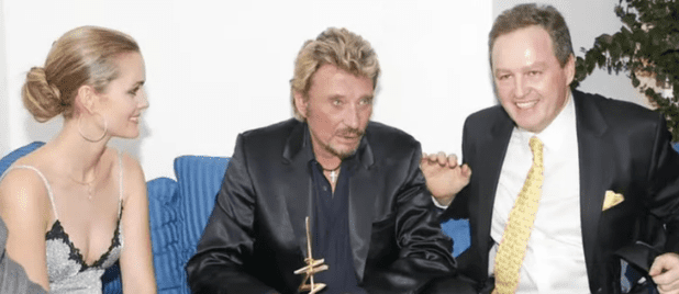 Laeticia Hallyday, Johnny Hallyday et André Boudou. | Youtube/Closer
