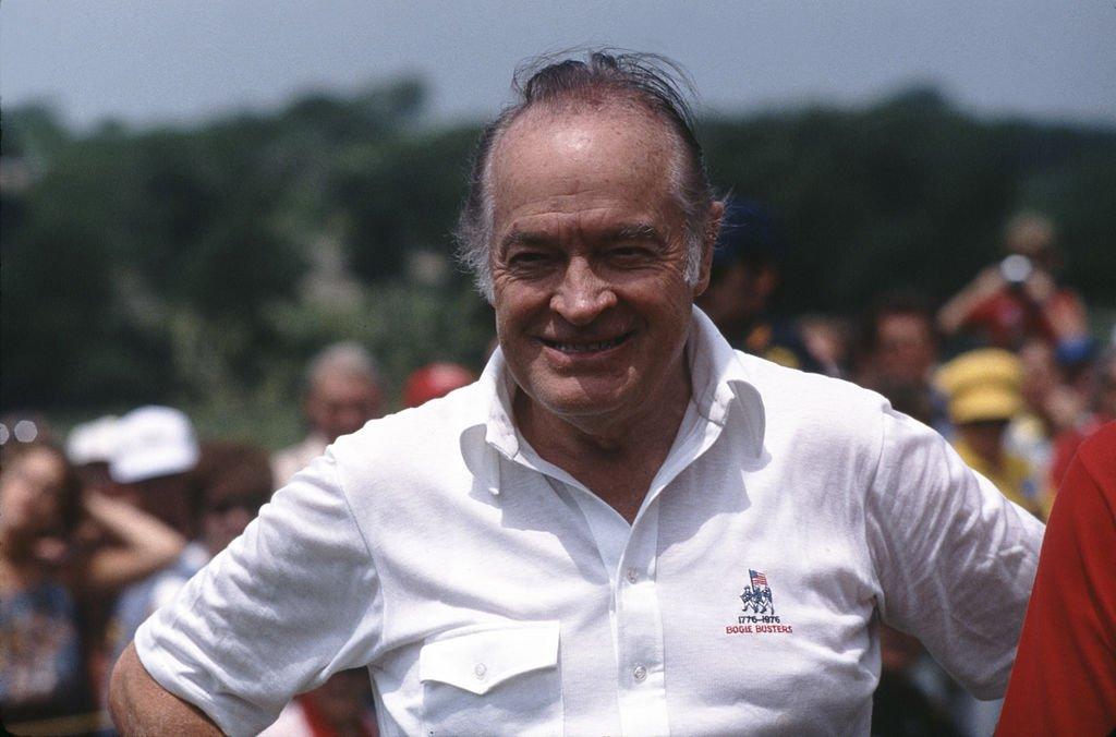 Bob Hope at a golf tournament on September 01, 1982 | Photo: Getty Images
