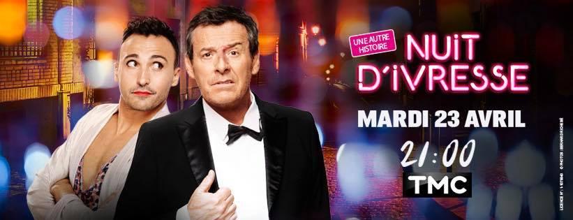 Affiche promotionnelle de la pièce de théâtre Nuit d'ivresse. | Facebook/Jean-Luc Reichmann