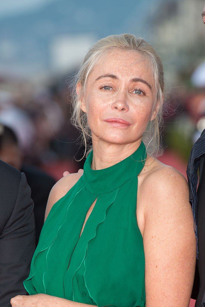 L'actrice Emmanuelle Béart, en 2016 à Cabourg. | Photo : Getty Images