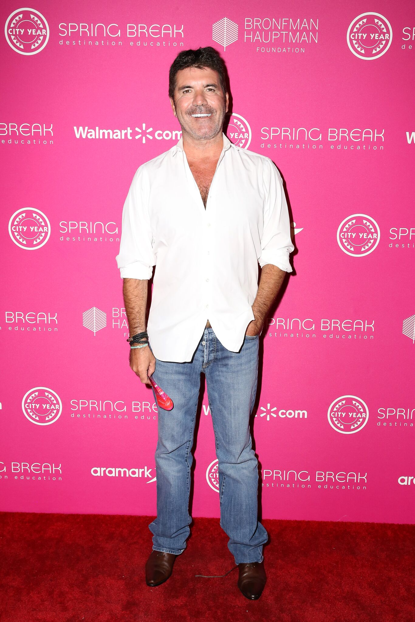 Simon Cowell attends City Year Los Angeles' Spring Break: Destination Education | Getty Images