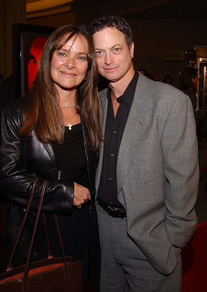 Gary Sinise and wife Moira Harris on January 24, 2002 in Los Angeles, California | Photo: Getty Images