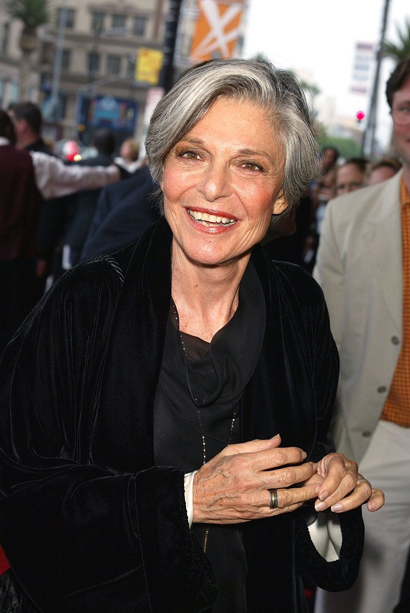 Anne Bancfoft on May 29, 2003 in Los Angeles, California   Photo: Getty Images