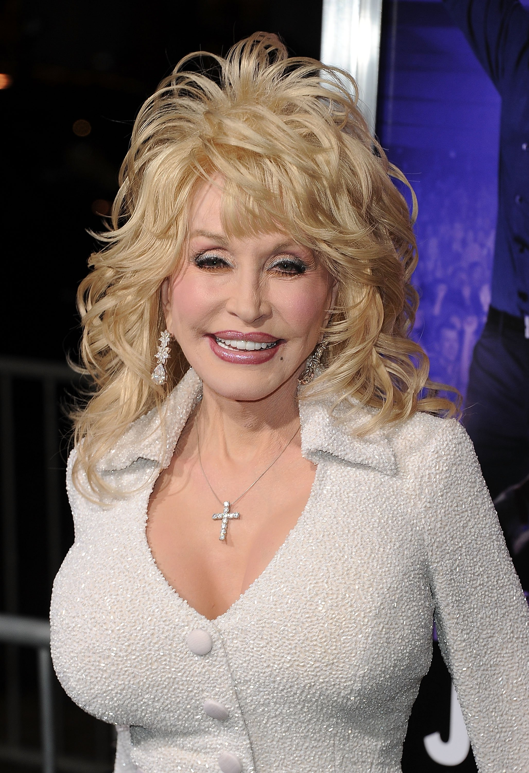 """Dolly Parton arrives at the premiere of Warner Bros. Pictures' """"Joyful Noise"""" held at Grauman's Chinese Theatre on January 9, 2012