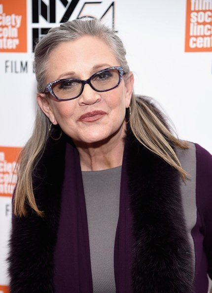 "Carrie Fisher attends the 54th New York Film Festival - ""Bright Lights"" on October 10, 2016 