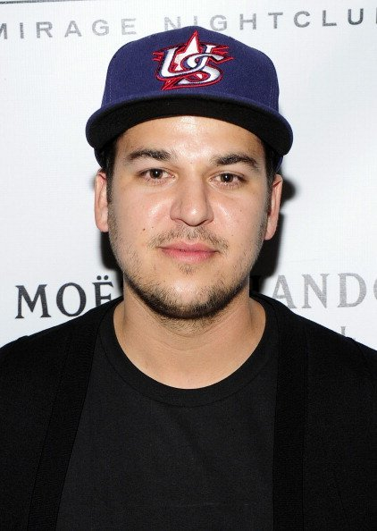 Rob Kardashian at 1 OAK Nightclub at The Mirage Hotel & Casino for a Memorial Day weekend celebration. | Photo:Getty Images