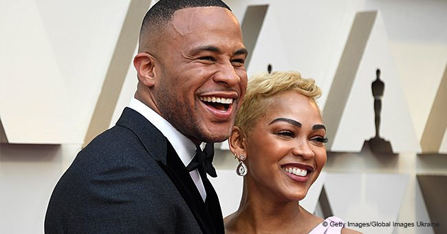 Meagan Good & Husband DeVon Franklin Say an Emotional and Powerful Prayer While at the Oscars