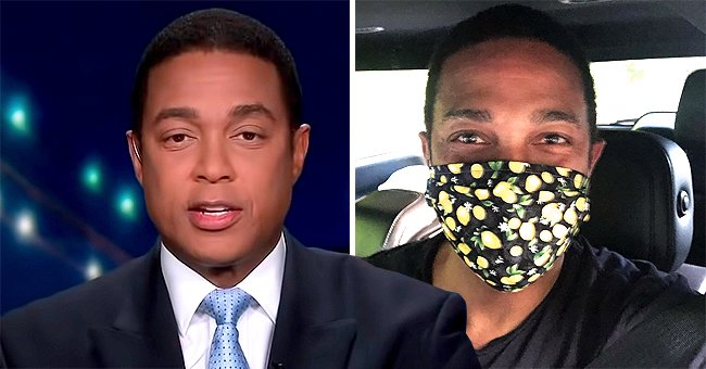 Don Lemon Flaunts Personalized Lemon-Print Face Mask and Thanks Friend for the Gift