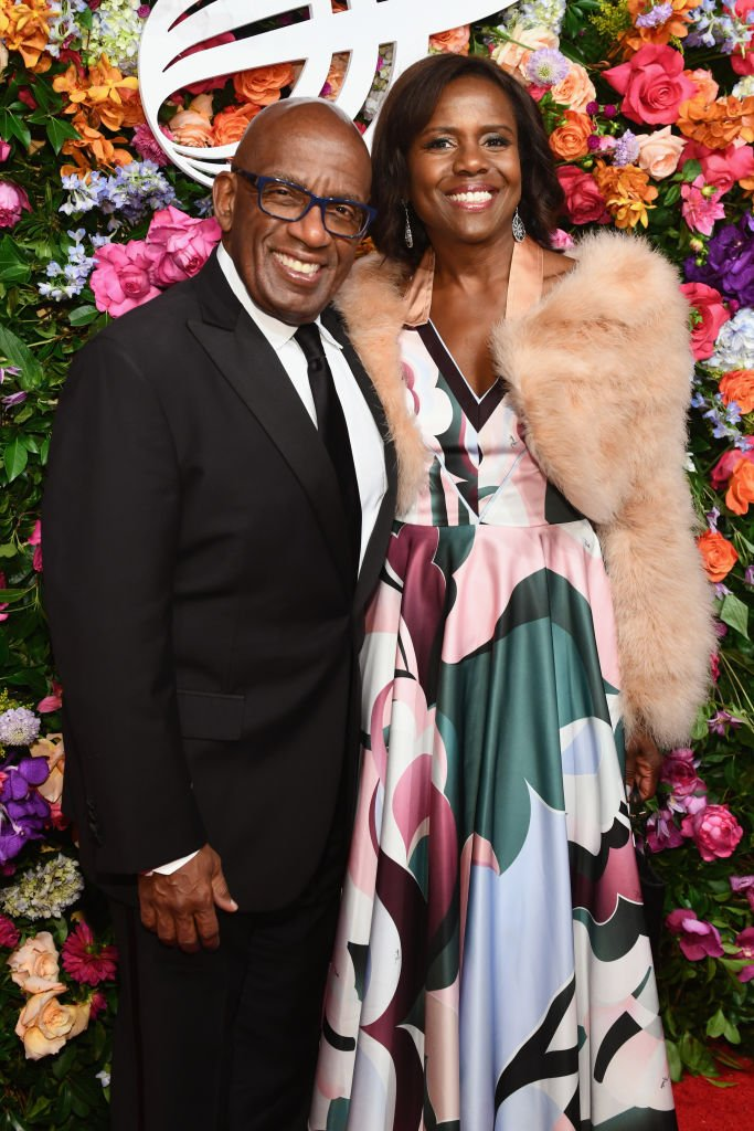Al Roker and Deborah Roberts attend the American Theatre Wing Centennial Gala at Cipriani 42nd Street on September 24, 2018 in New York City. | Photo: Getty Images.