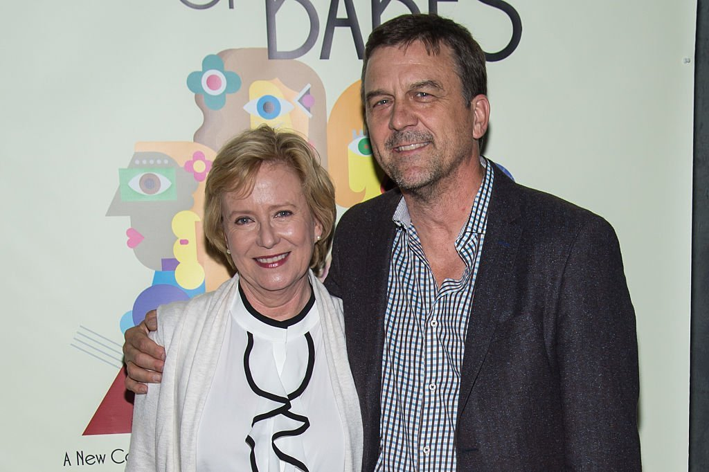 "Eve Plumb and Ken Pace attend ""Out Of The Mouth Of Babes"" opening night on June 19, 2016 