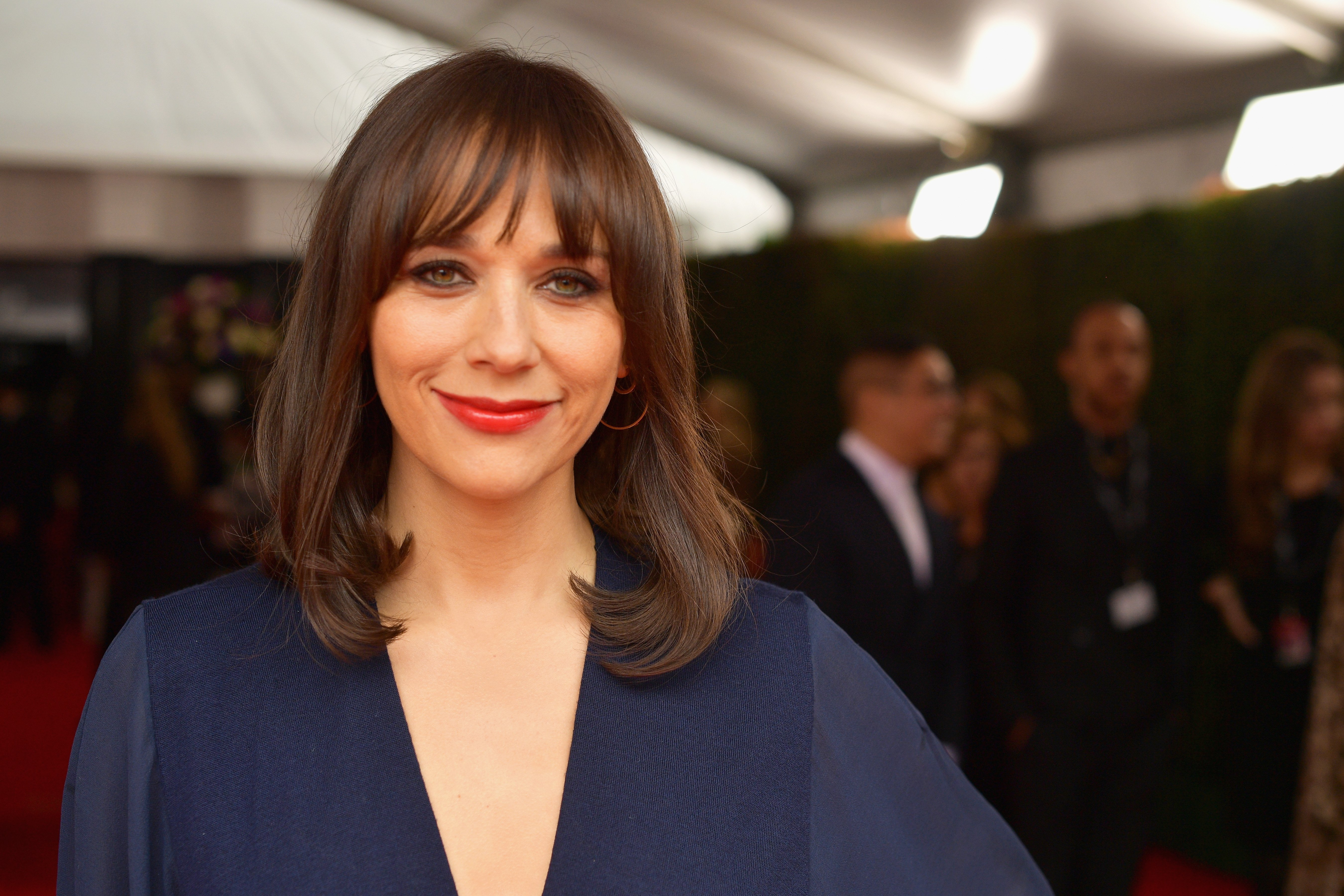 Rashida Jones at Staples Center on February 10, 2019 in Los Angeles, California | Source: Getty Images