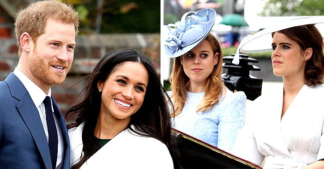 Princesses Beatrice and Eugenie Likely to Step into Harry & Meghan's Royal Roles, Biographer Robert Lacey Says
