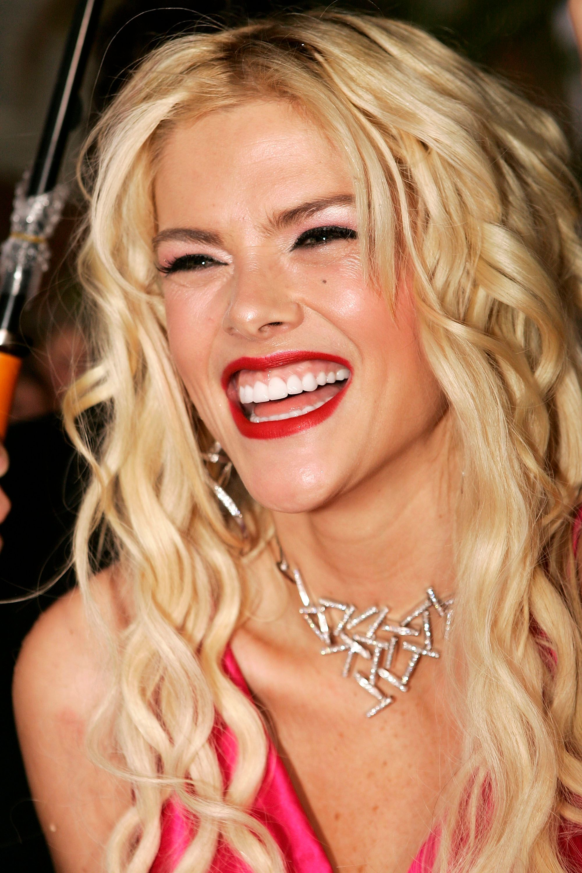 Anna Nicole Smith at the inaugural MTV Australia Video Music Awards in 2005 in Sydney, Australia | Source: Getty Images