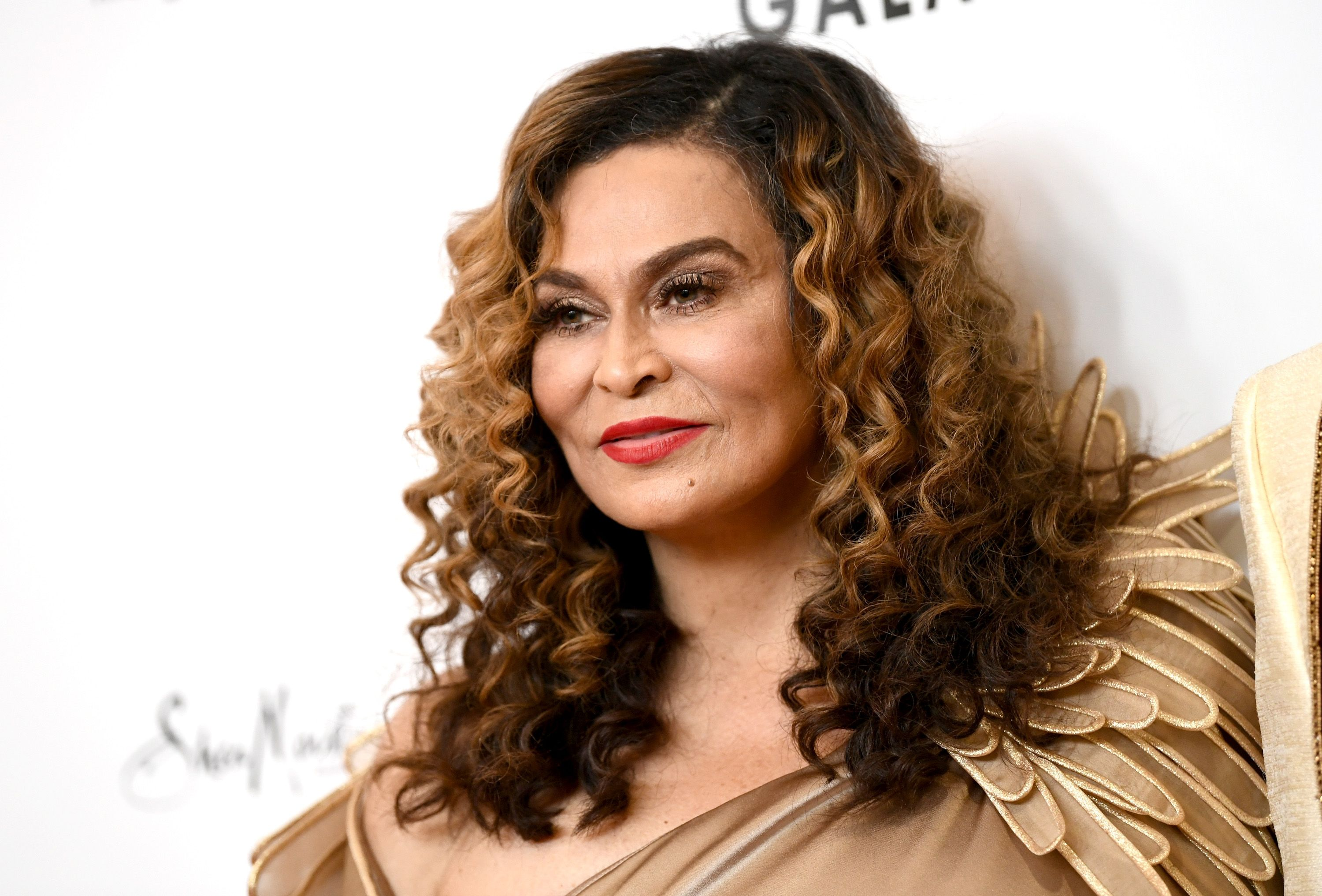 Tina Knowles at WACO Theater's 2nd Annual Wearable Art Gala on March 17, 2018. | Source: Getty Images