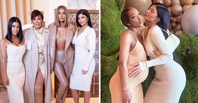 Khloé Kardashian, Kylie & Kris Jenner from KUWTK Attend Malika Haqq's Bear-Themed Baby Shower