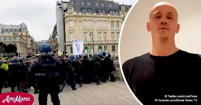 Christophe Dettinger contre les gendarmes: cette femme témoigne ce qui s'est réellement passé sur le pont de Paris