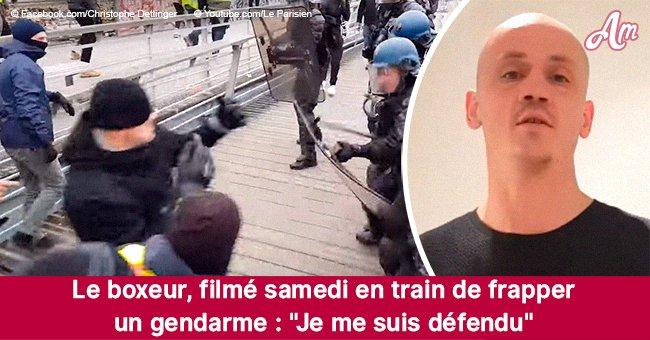 Gilets jaunes: Christophe, l'homme qui a battu un policier, affirme qu'il se défendait