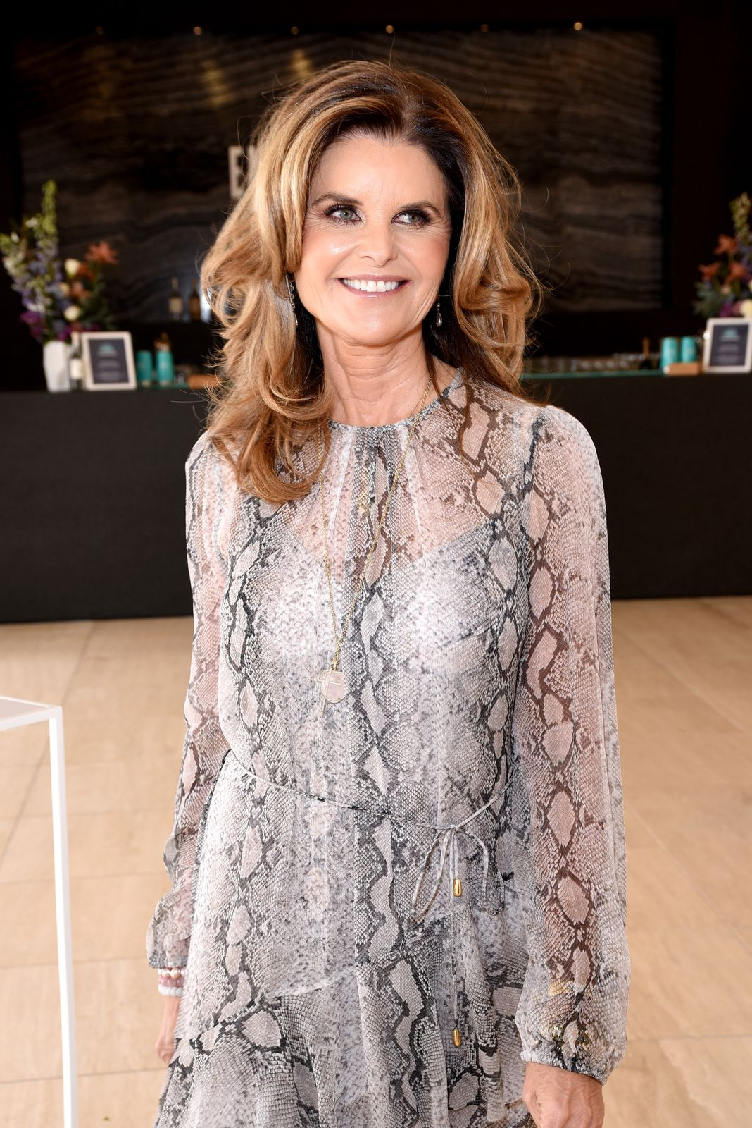 Maria Shriver at The Hollywood Reporter's Empowerment In Entertainment Event on April 30, 2019, in Los Angeles, California | Photo: Presley Ann/Getty Images