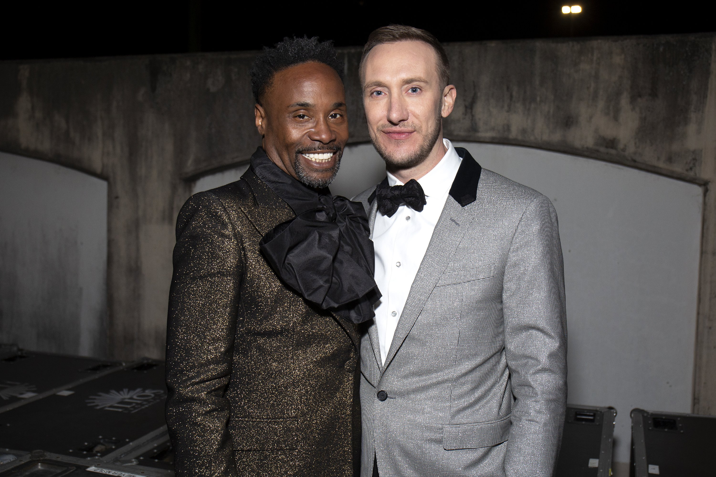 Billy Porter and Adam Porter-Smith attending Dick Clark's New Year's Rockin' Eve Celebratiion in New Orleans City, in December 2019. | Image: Getty Images.
