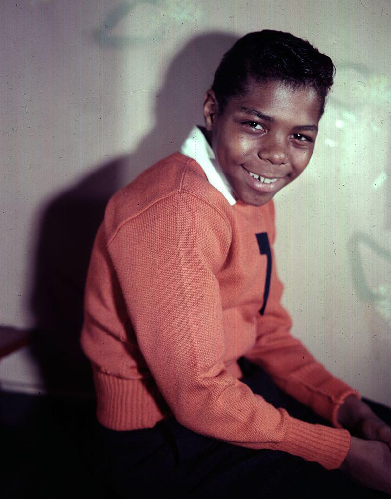 Frankie Lymon of the popular young American vocal group Frankie Lymon and The Teenagers   Photo: Getty Images