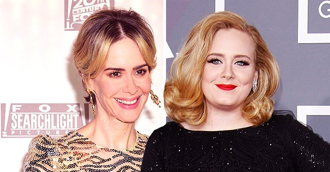 Sarah Paulson Reacts to Being Called Adele's Lookalike after the Singer's Dramatic Weightloss