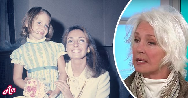 """Jennifer O'Neill with her daughter Aimee in 1972 and O'Neill in an interview with """"Today"""" in October 2016   Photo: Getty Images - YouTube/TODAY"""