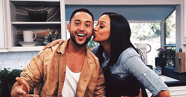 Tia Mowry's Brother Tahj & Son Cree Show Their Matching Smiles While Posing in Caps in a New Selfie