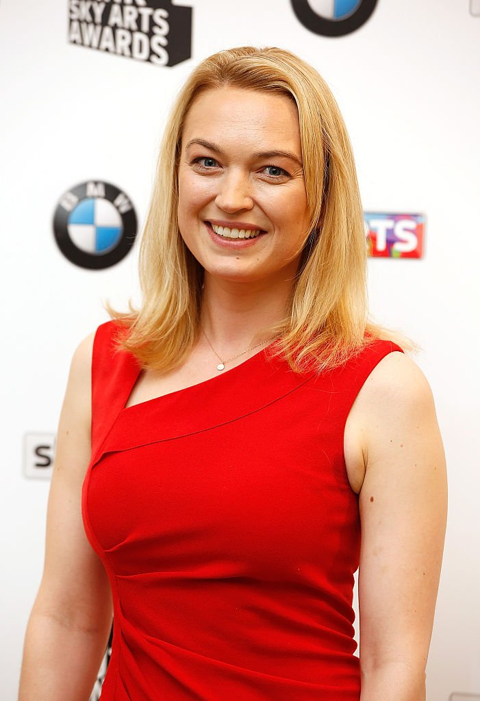 Sophia Myles in the press room at the South Bank Sky Arts Awards at The Savoy Hotel on June 7, 2015   Photo: Getty Images