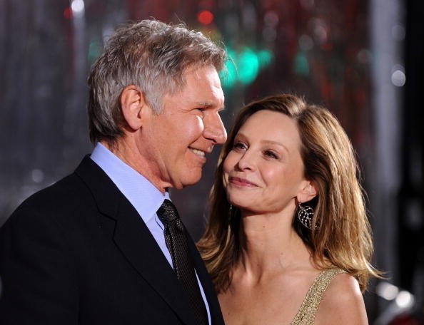 "Actor Harrison Ford and Calista Flockhart, actress arrives at the premiere of CBS Films' ""Extraordinary Measures"" held at the Grauman's Chinese Theatre on January 19, 2010 in Hollywood, California 
