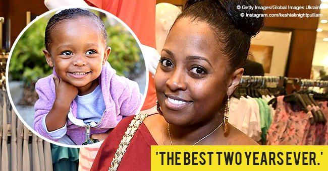Keshia Knight-Pulliam shares new photo of her little daughter on her 2nd birthday