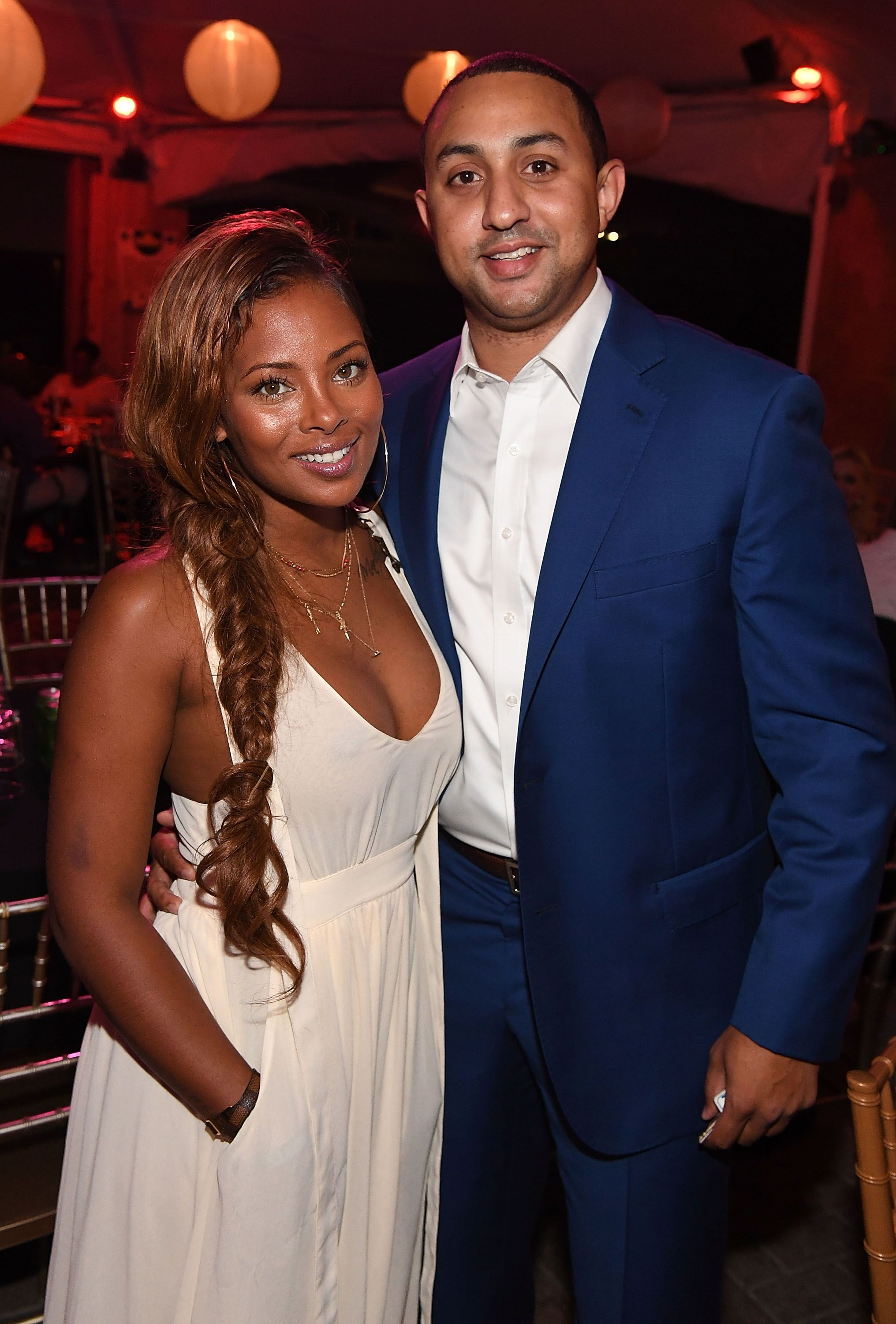 Eva Marcille and Michael Sterling attend ATL Live On The Park: Hip-Hop Soul Edition in Atlanta Georgia in 2016   Source: Getty Images