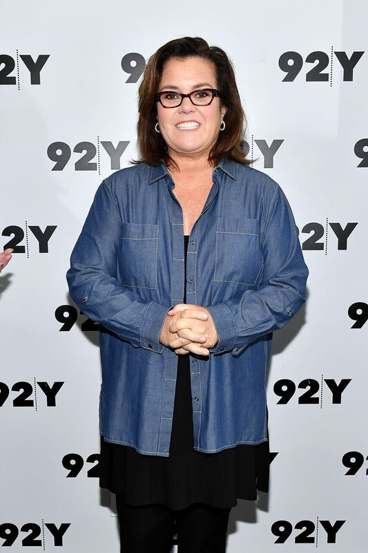 Rosie O'Donnell posing on the red carpet. Image credit: Getty Images