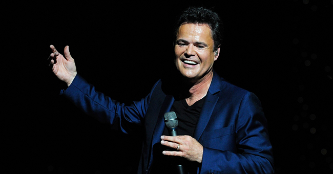 Donny Osmond Shows off Four of His Little Grandkids