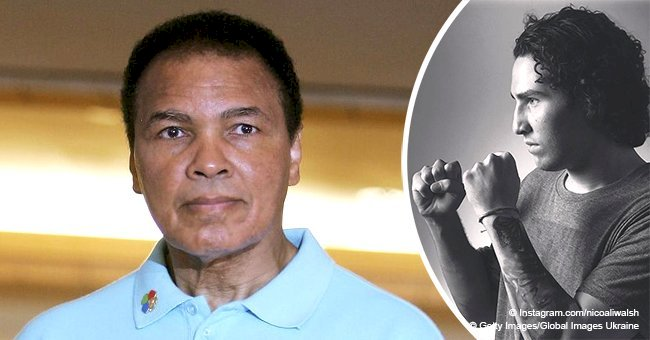 Muhammad Ali's grandson is making a name for himself as a boxer & looks nothing like his grandpa