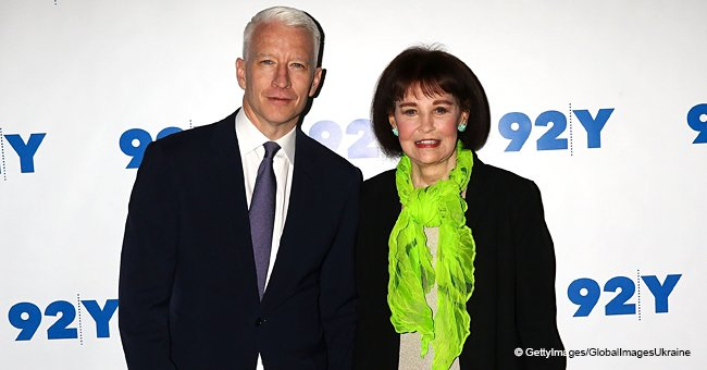 Anderson Cooper Reveals a Cheeky Secret about His Mom's Love Life on Her 95th Birthday