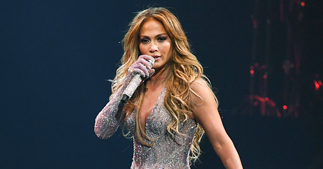 J-Lo, 50, Reveals Curves in Sparkling One-Legged Jumpsuit at First Concert in Egypt