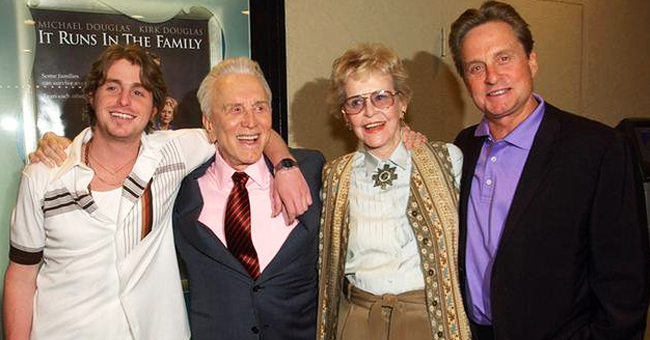 Inside Kirk Douglas' Marriage with Diana, His First Wife and the Mother of Michael Douglas