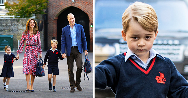 Kate Middleton Missed Prince George's First Day of School 2 Years Ago but Didn't Miss Princess Charlotte's One Today