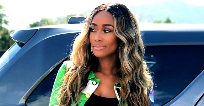 Tami Roman of 'Basketball Wives' Stuns in Black Dress and Colorful Jacket in a Photo