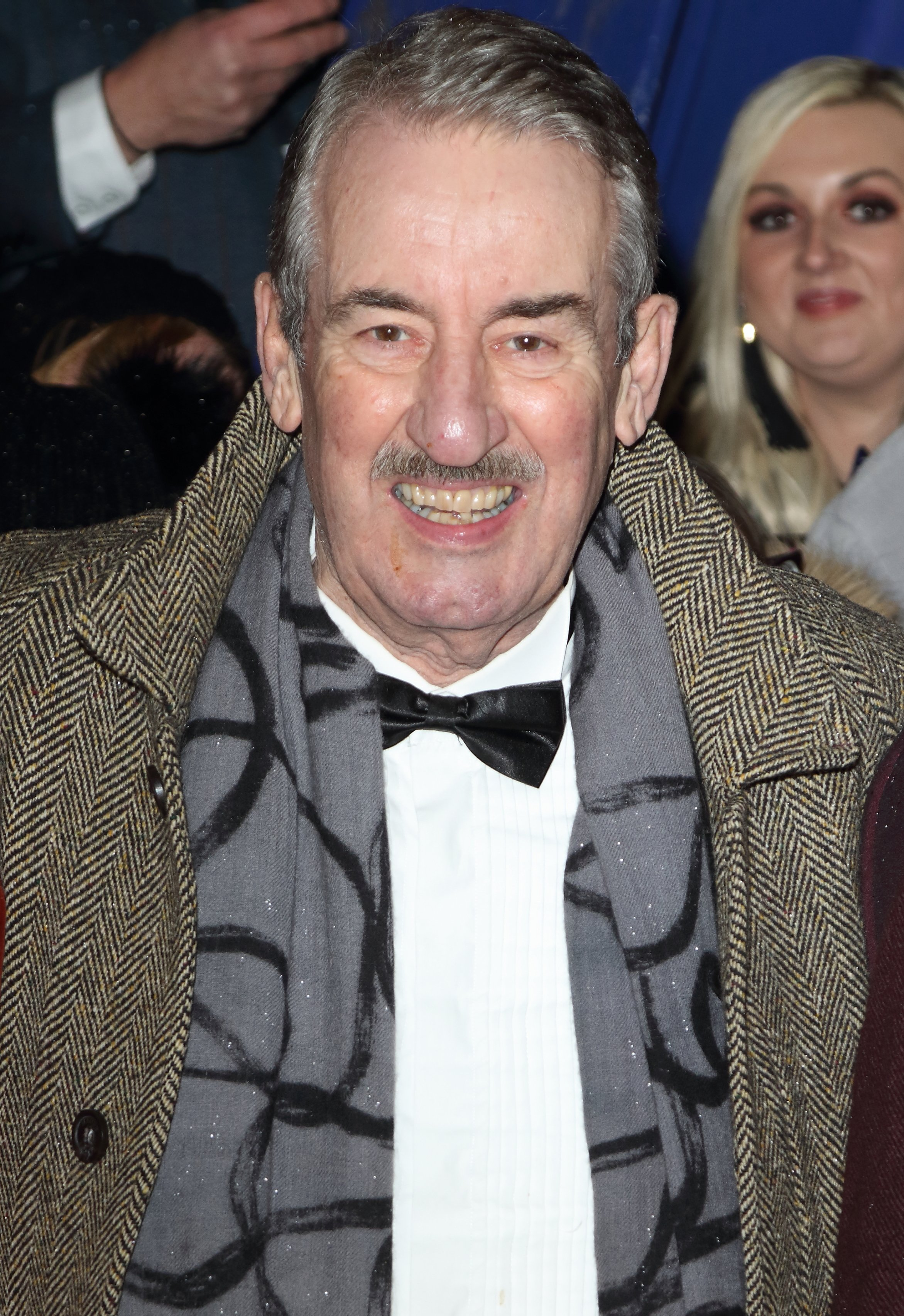 John Challis pictured on the red carpet during the National Television Awards, 2019, United Kingdom.   Photo: Getty Images