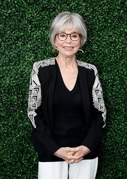 Rita Moreno attends USTA 19th Annual Opening Night Gala Blue Carpet at on August 26, 2019 | Photo: Getty Images