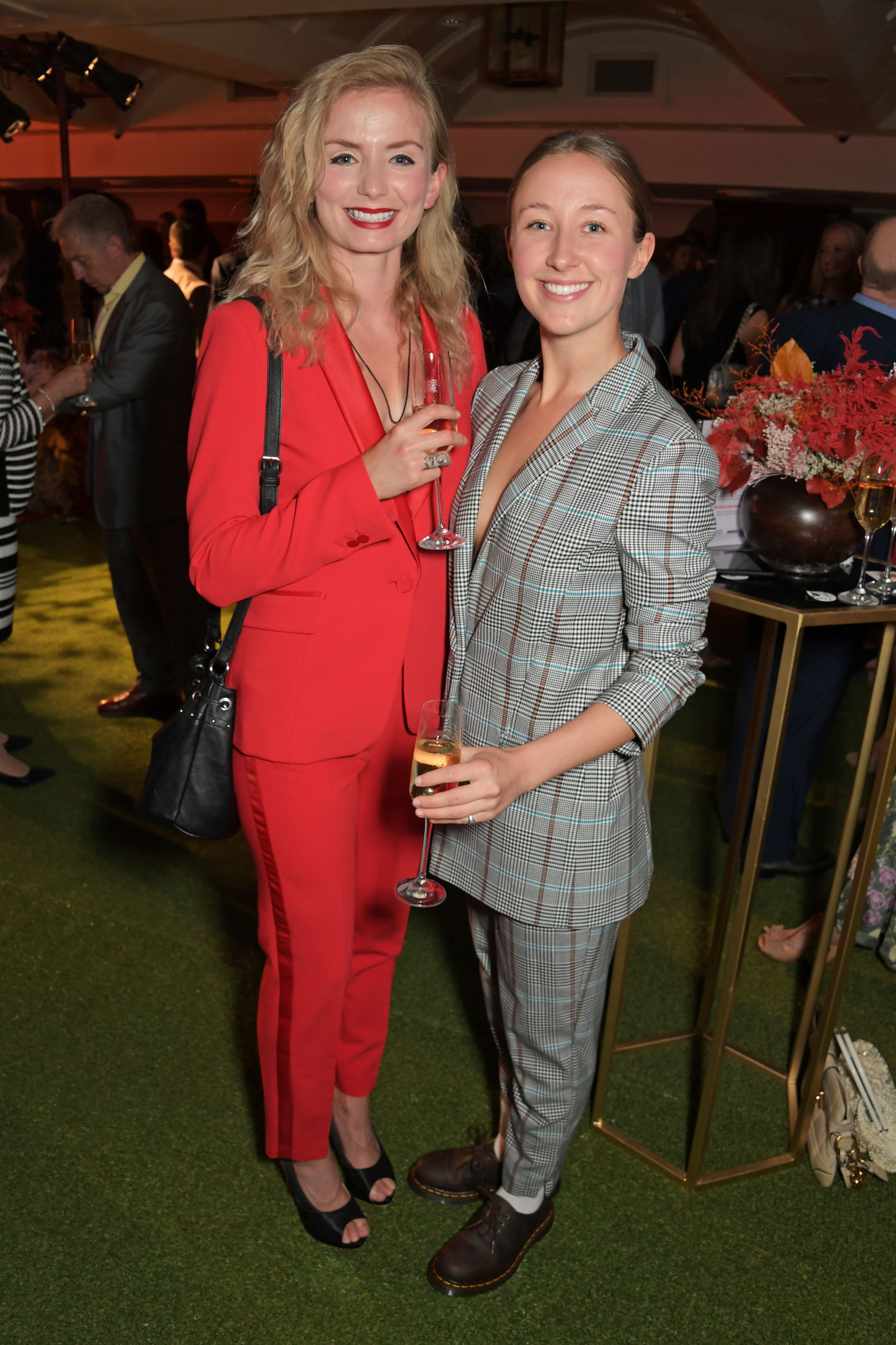 Erin Doherty with partner Sophie Melville at the Midsummer Party for The Old Vic in 2019 in London, England | Source: Getty Images