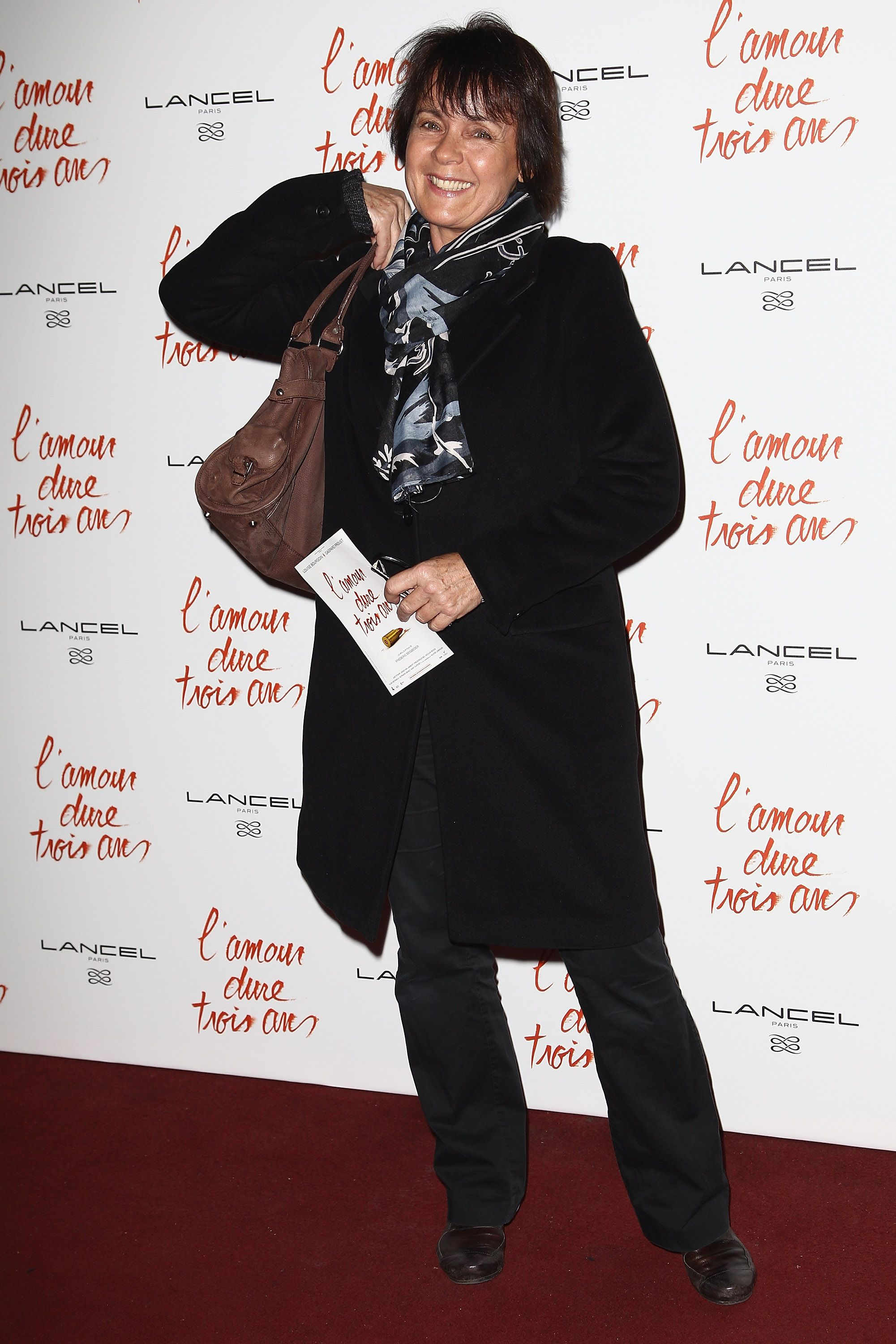 Fabienne Egal assiste à 'L'Amour Dure Trois Ans' Paris Premiere au Grand Rex le 7 janvier 2012 à Paris, France. | Photo : Getty Images