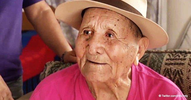 Anciano mexicano fue a la escuela por primera vez en su vida a los 103 años de edad
